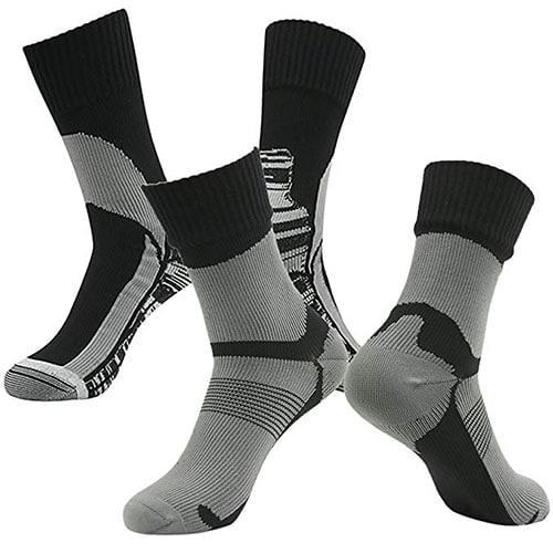 Waterproof hiking and camping socks.