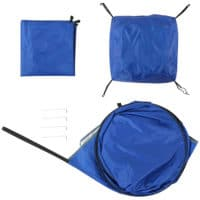 Wolfwise pop up privacy camping tent included items.
