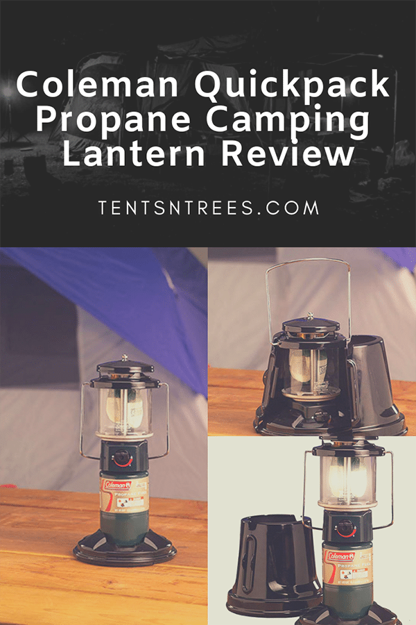 This Coleman Quickpack camping lantern is an awesome way to light your campsite. This lantern works great and is very affordable.