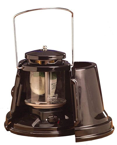 Coleman Quickpack Propane Lantern carrying case and storage.