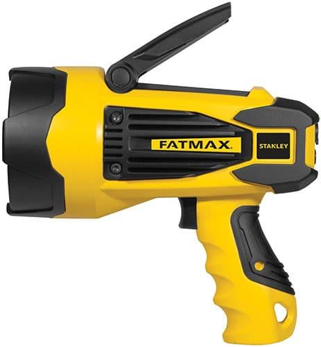 Stanley Fatmax rechargeable 920 lumen searchlight.