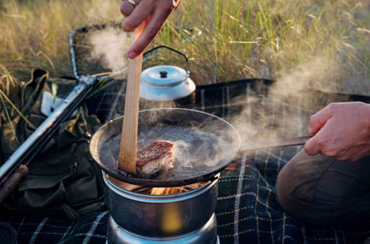 Tips for cooking while camping.