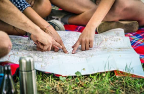 Tips for finding a choosing a campground and campsite.