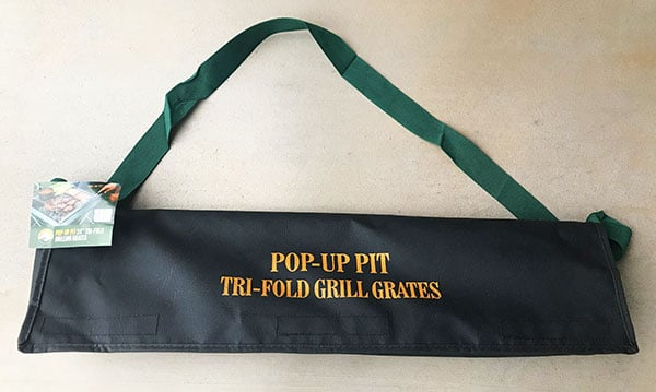 Grill for the pop-up pit