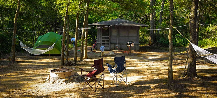 Best camping in Texas, Eisenhower State Park