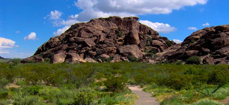 Hueco Tanks State Park in TX