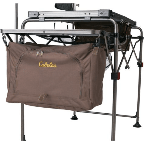 Cabela's camping kitchen side view