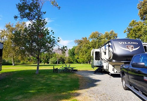 Best California camping, Canyon RV Park