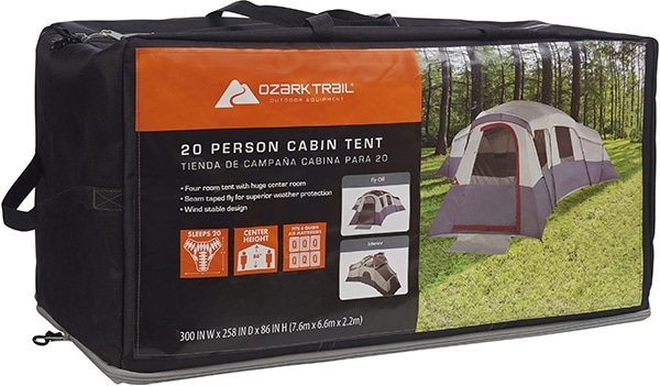 Ozark Trail 20 Person Tent Carrying Case