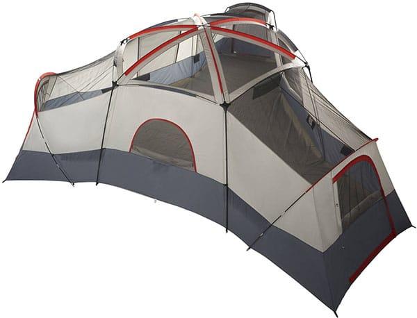 Ozark Trail 20 Person Camping Tent Top View