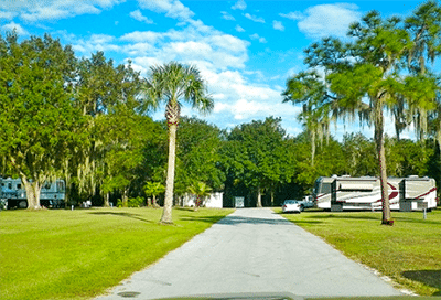 Florida camping Peace River RV camping
