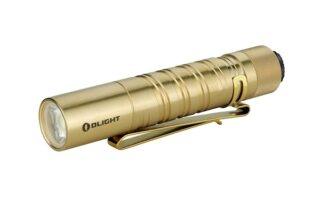 Olight i5T EOS Brass Flashlight Review