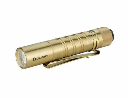 Olight i5T EOS Brass Review