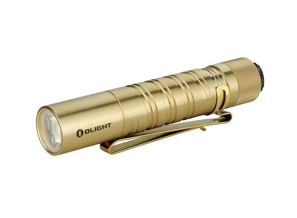 Olight i5T EOS Brass Flashlight Review