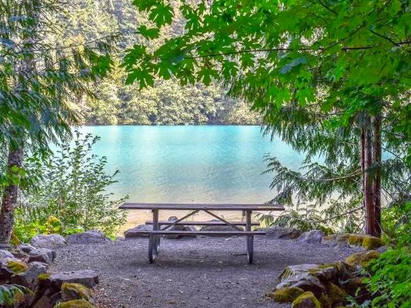 Best camping in Washington, Colonial Creek South campground