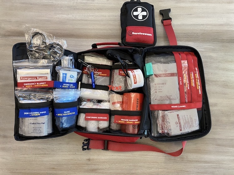 Surviveware Large First Aid Kit All Supplies
