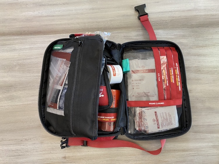 Surviveware Large First Aid Kit open