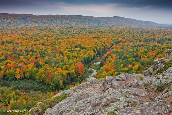 Porcupine Mountains State Park camping