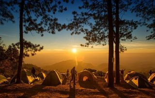 Large group camping tips